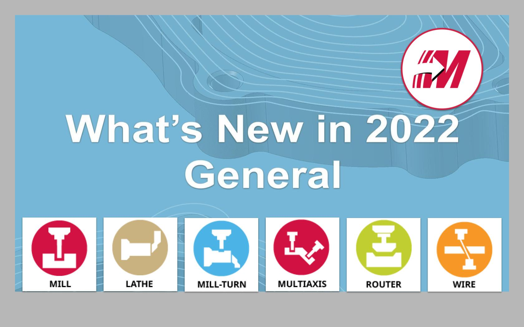 What's New in 2022 - General
