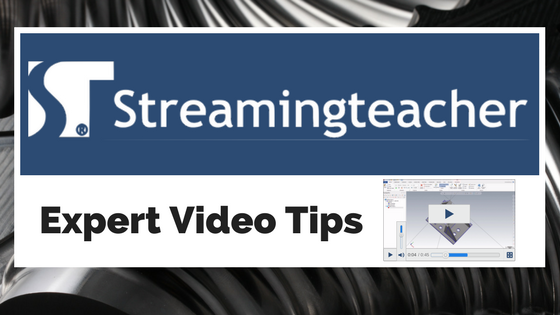 Streamingteacher Tip: MC2019 Quick 3D Milling Part Revision