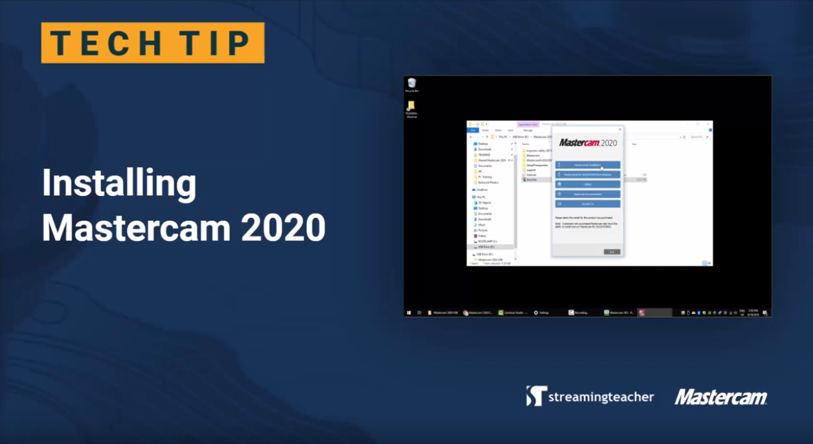 Streamingteacher Tip: MC2020 Installation