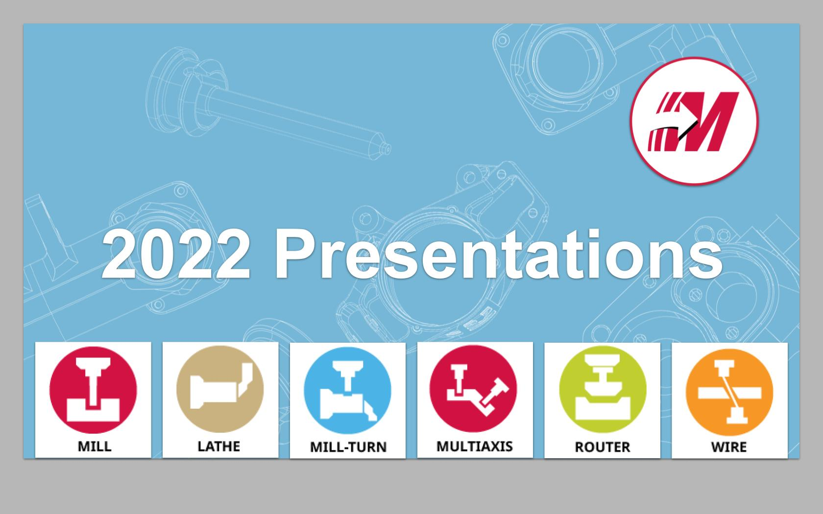 2022 Presentations - All Products