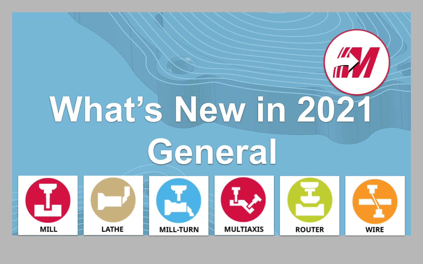 What's New in 2021 - General