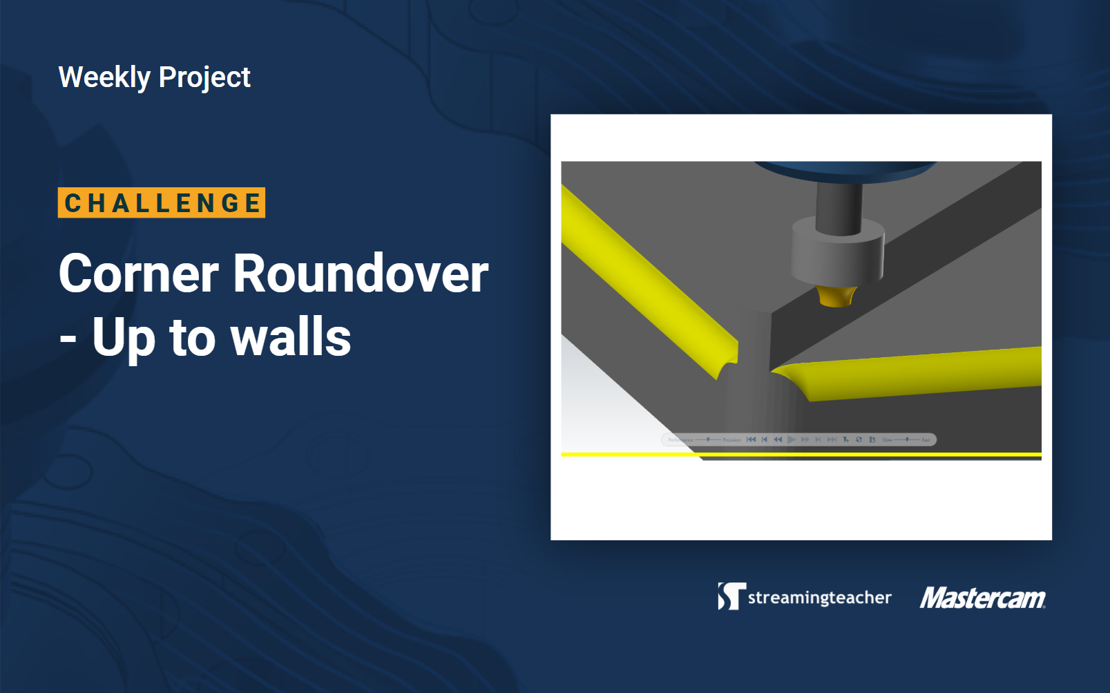 Corner Roundover up to Wall